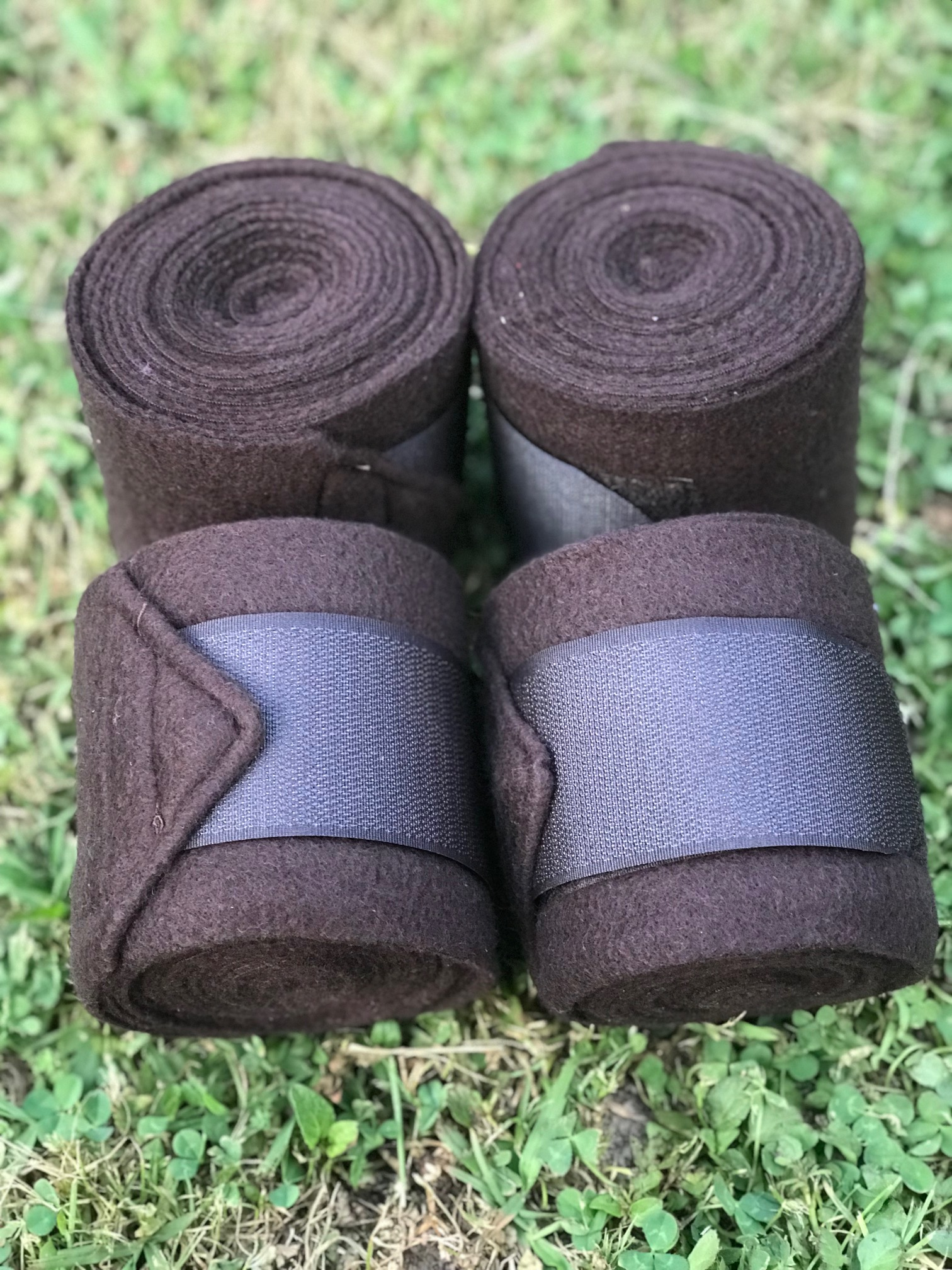 Valleyhorsewear Brown Fleece Bandages