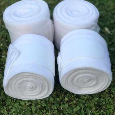 Valleyhorsewear White Fleece Bandages