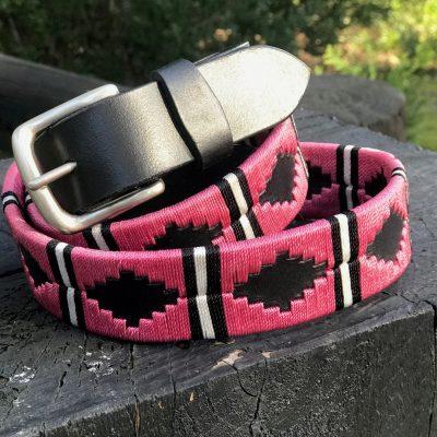 Pink Polo belt