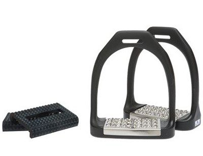 Equi-wing, Hyper Nylon Stirrups (Metal Treads + Rubber)