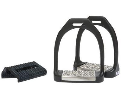 Equi-wing, Hyper Nylon Stirrups (Metal Treads + Rubber)