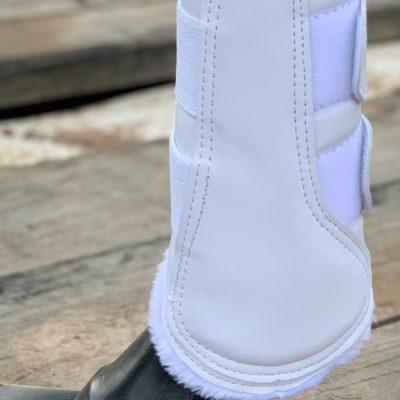 Valleyhorsewear Brushing Boots-White