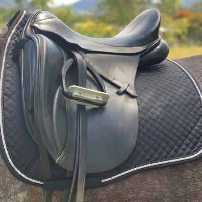 Valleyhorsewear Dressage Saddle Pad-Black