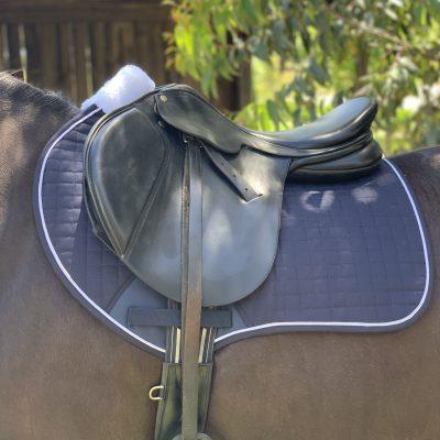 Valleyhorsewear Close Contact jump pad-Navy